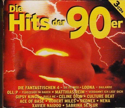 DIE HITS DER 90er [3er CD-Box 1999] SMM 985943-2, UPC 23115927