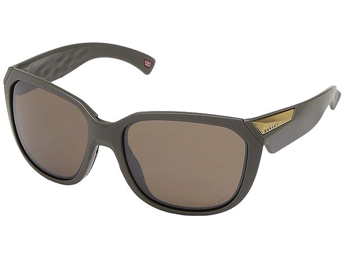 Oakley 59 mm Rev Up (Matte Olive) Fashion Sunglasses