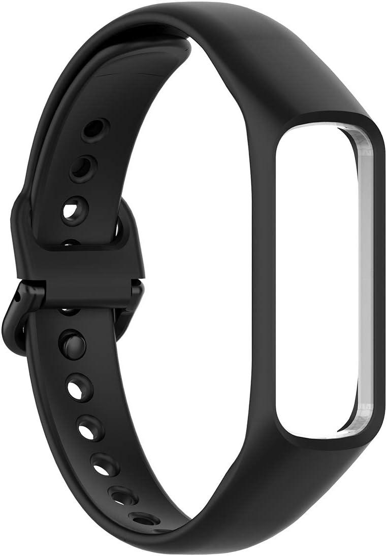 Malla para reloj Samsung Galaxy Fit 2 (silicona, negra)