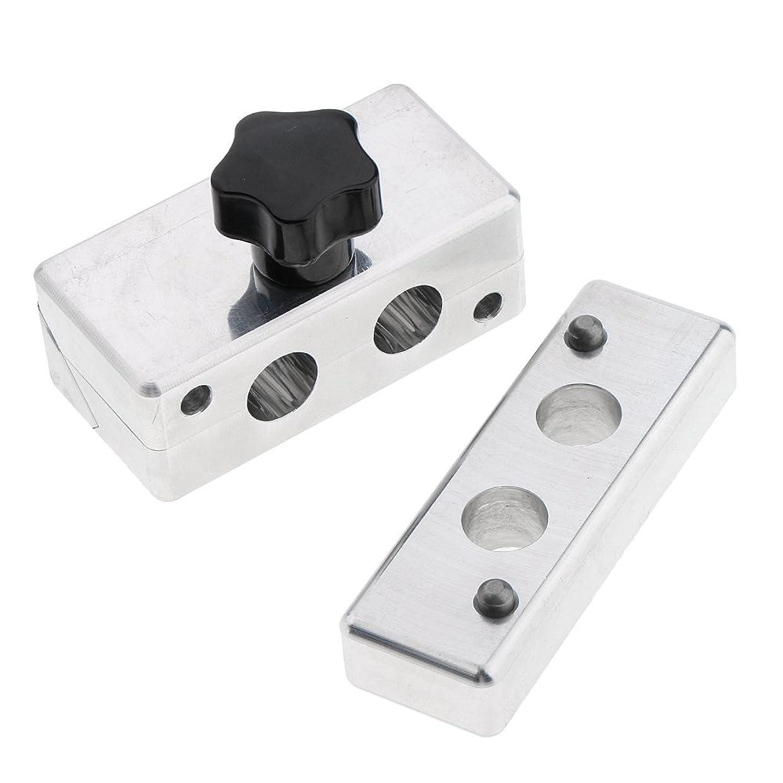 どんよりした割れ目きょうだいFenteer リップスティック金型 リップスティック 口紅 金型 DIY クリームメーカー コスメ メイクアップ 5タイプ選べ - 12.1mm2穴