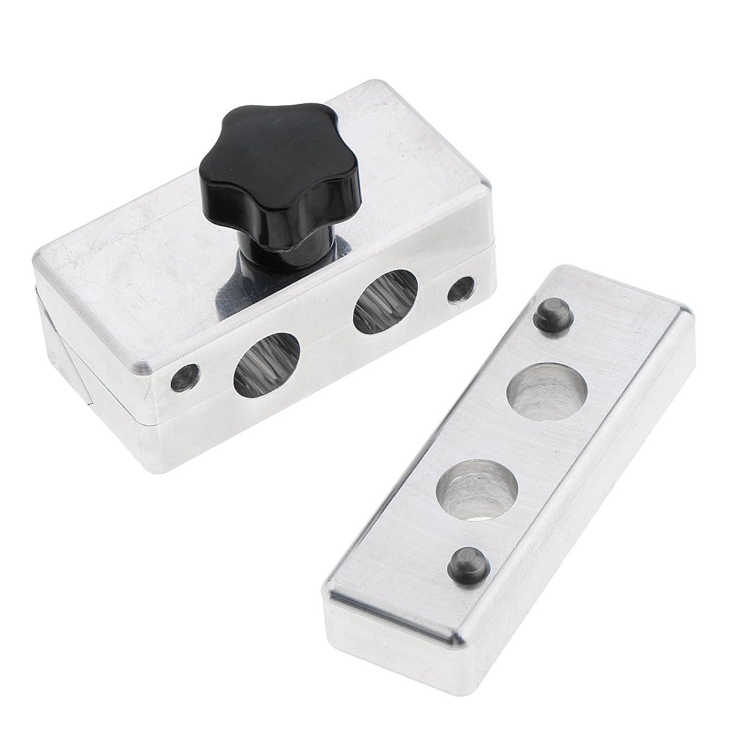 ウサギ同盟正当化するFenteer リップスティック金型 リップスティック 口紅 金型 DIY クリームメーカー コスメ メイクアップ 5タイプ選べ - 12.1mm2穴