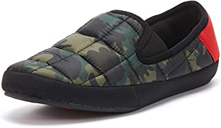 Coma Toes Malmoes Mens Green Camo/Red Slippers