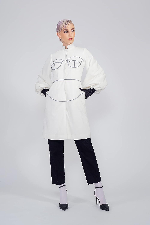 Women - Fashion Faux Fur Body from LIBBY Max 68% OFF Genuine Par Coat Yvette N'guyen