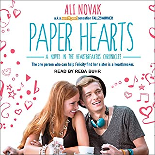 Paper Hearts audiobook cover art