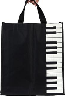 ammoon Musical Washable Cotton Cloth Handbag Music Tote Shou