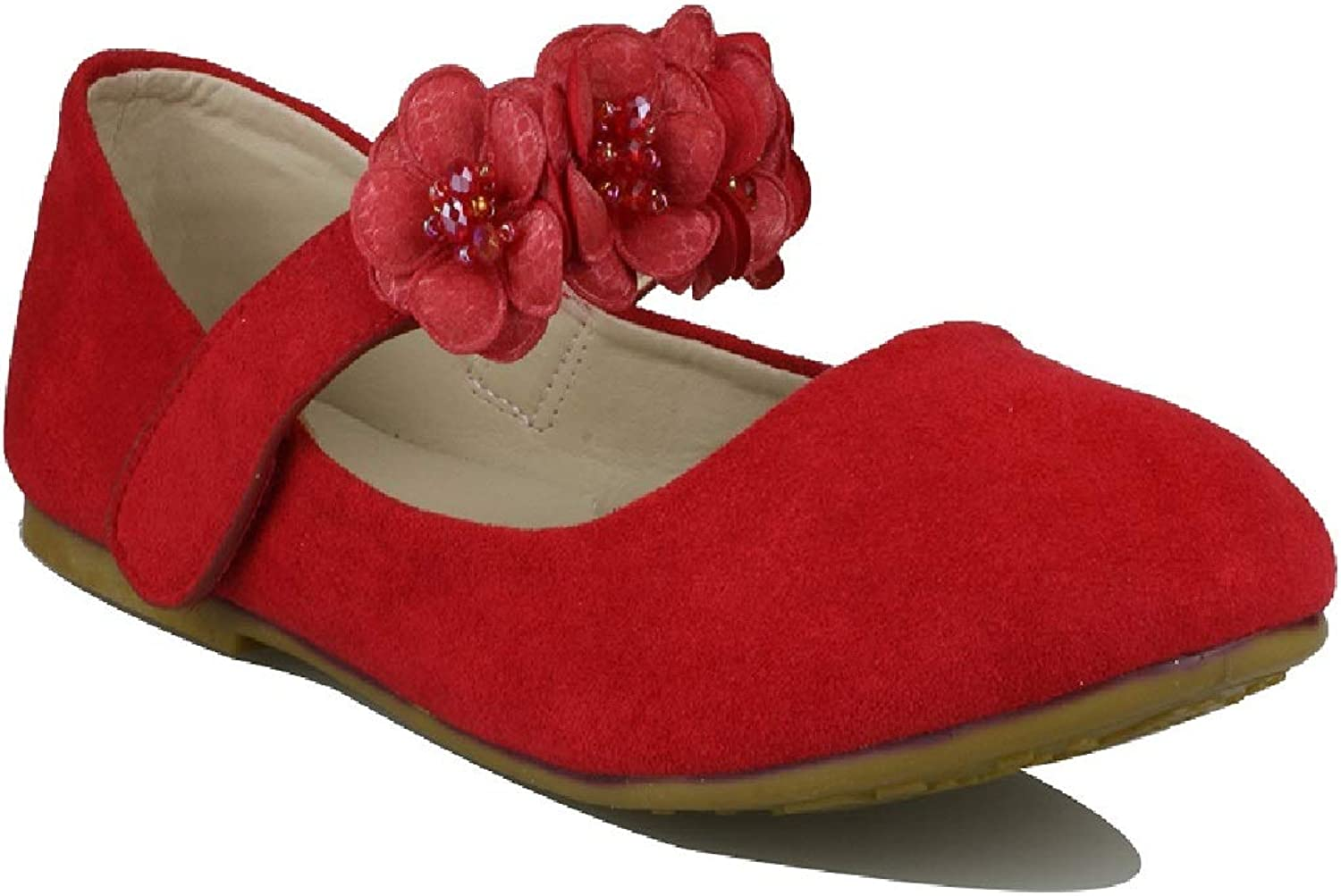 Girls Glitter Ranking TOP3 Suede Mary Jane Shoes Ballerina Dres Princess Some reservation Flat