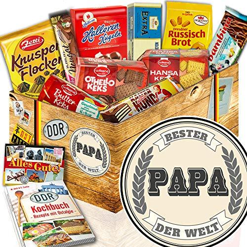 Keks Schachtel Geschenk / Ost Box / Bester Papa der Welt / Geburtstags Idee Papa