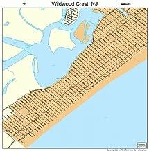 street map of wildwood nj