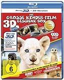 Die große Kinderfilm-Geschenk-Box mit drei preisgekrönten Tier-Abenteuern: Der weiße Löwe, Benny - Allein im Wald, Die Königin der Erdmännchen (3 3D Blu-rays) [Edizione: Germania]
