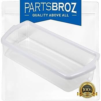 Compatible with WPW10321304 Door Bin 2-Pack W10321304 Refrigerator Door Bin Replacement for Kenmore//Sears 106.58143801 Refrigerator