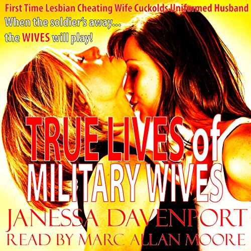 True Lives of Military Wives audiobook cover art