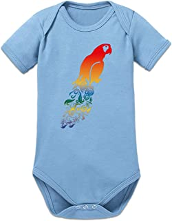 Shirtcity Papagei Baby Strampler by