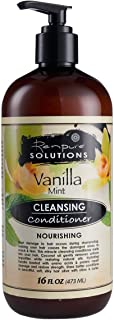 Renpure Vanilla Mint Cleansing Conditioner with Pump, 16 Ounce