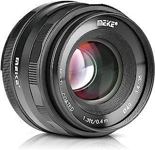 Meike 35mm F1.4 Large Aperture Manual Focus Lens APS-C for Sony E Mount Mirrorless Cameras NEX 3 NEX 3N NEX 5 NEX 5T NEX 5...
