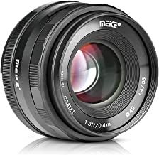 Meike MK-35mm F/1.4 APS-C Large Aperture Manual Focus Lens for Sony E-Mount Mirrorless Cameras A7III A9 NEX 3 NEX 3N NEX 5 NEX 5T NEX 5R NEX 6 7 A5000 A5100 A6000 A6100 A6300 A6500