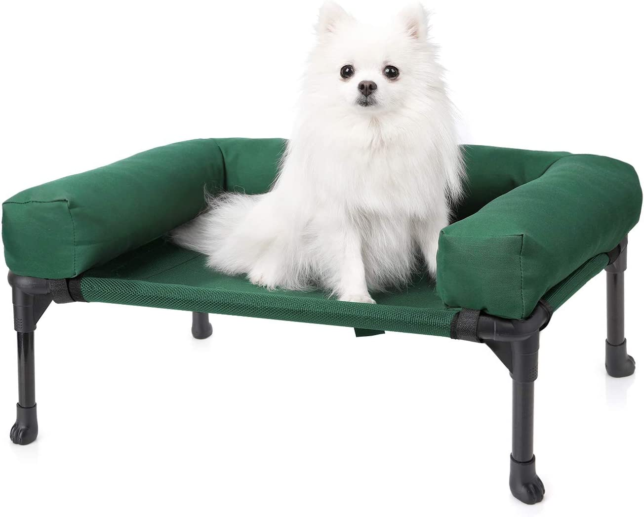 Max 79% Milwaukee Mall OFF Veehoo Bolster Elevated Dog Bed – Pr Cooling Raised Chew Pet