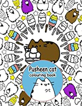 Pusheen Cat Colouring Book: Holidays Fun Colouring Pusheen Cat- Wonderful Gift For Adults,Kids