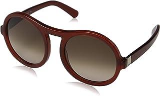 Chloe CE715S 223 Burnt Red Round Sunglasses