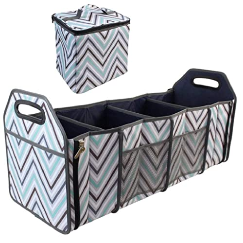 Original Folding Trunk Organizer with Cooler by 212 Main Houndstooth
