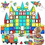 HOMOFY Oversize 3D Building Blocks Magnetic Tiles 100PCS STEM Educational Magnet Toy Set for Kids Inspiration Building...