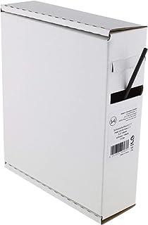 Heat Shrink Tube Black 2:1 3.2-1.6 mm 11.5 Metres - Dispenser Box