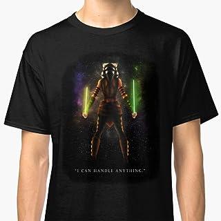 Unisex T-Shirt Ahsoka Tano - I Can Handle Anything Shirts For Men Women Graphic Shirts