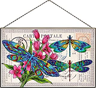 Art Panel-AP333R-Dragonfly Post
