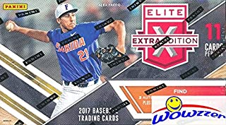 2017 Panini Baseball Elite Extra Edition Factory Sealed Retail Box with FIVE(5) AUTOGRAPHS or MEMORABILIA Cards! Look for Autographs from 2017 USA Baseball Current,18U &15U National Teams! Wowzzer!