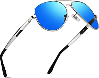 ATTCL - Hombres Polarizadas Gafas De Sol Súper Ligero Al-Mg Marco De Metal