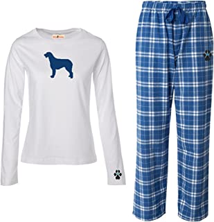 YourBreed Clothing Company Irish Wolfhound Ladies Flannel Pajamas.
