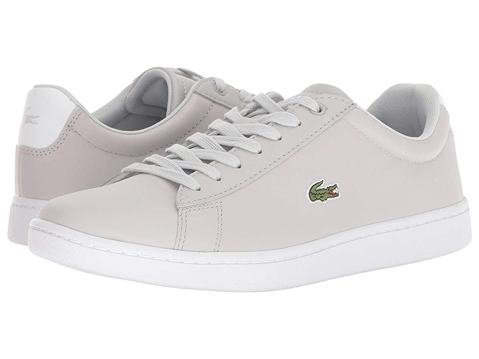 3a8a1f6fa62476 Lacoste Hydez 318 2 P (Light Grey White) Women