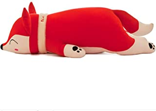 "Smilesky Plush Hugging Animal Pillows Stuffed Animal Toys Gifts for Kids 20"" RedLarge"