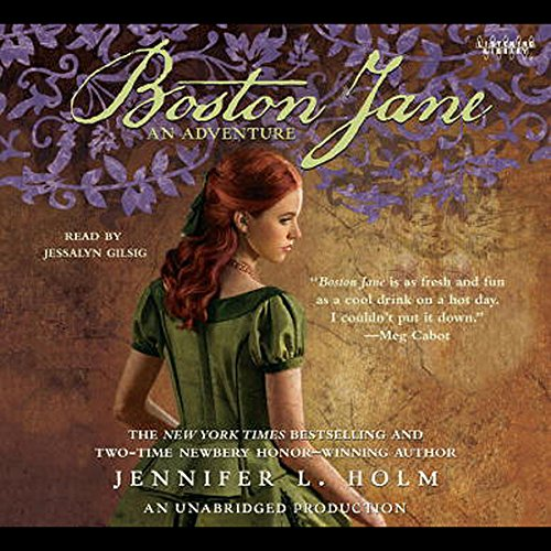Boston Jane audiobook cover art