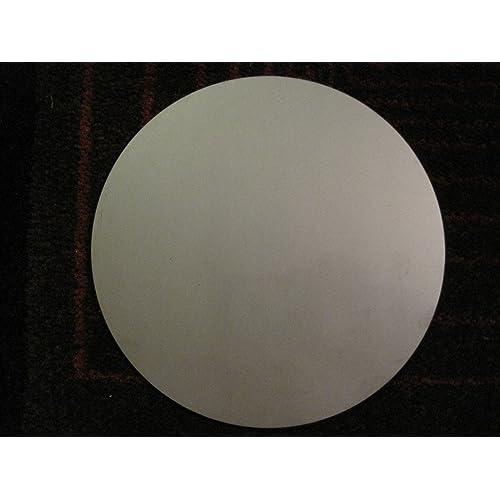 "1/8"" Stainless Steel Plate, 8"" Diameter, 304 SS"