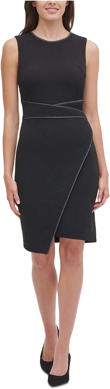 Tommy Hilfiger Women's Asymmetrical Hem Sheath Dress
