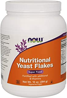 Now Foods Nutritional Yeast Flakes, 284g