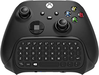 Wireless Controller Keyboard Compatible with Xbox Series X/S/Xbox One/S/Controller Gamepad, 2.4Ghz Mini QWERTY Controller ...