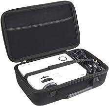 Hermitshell Hard Travel Case for QKK Mini Projector 4500Lumens Portable LCD Projector / QKK [2020 Upgrade 4200Lux] Potable Mini Projector