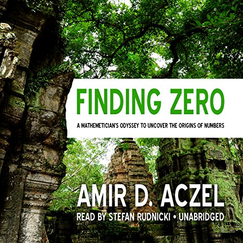 Finding Zero audiobook cover art
