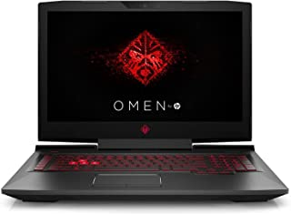 HP OMEN 17t Gaming Laptop - Intel 6 Core 8Th Gen i7-8750H  17.3 4K UHD 3840x2160, 8GB VGA-GTX1070, Eng-KB, Windows 10, Carbon Fiber