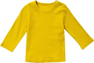 Unisex Baby Shirt Cotton Long Sleeve Tee Infant Tops