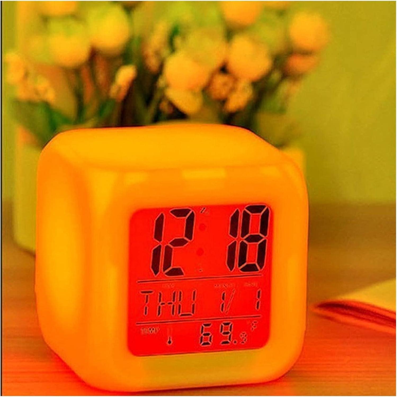 Fuxwlgs Alarm Clock 1pcs Dallas Mall Spasm price Co Portable Multifunction 7