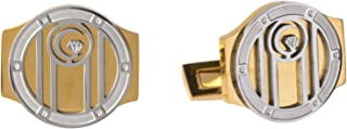 Diamond Moon Stainless Steel Cufflinks for Men, Stainless Steel - 1800541240453