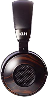 KLH Ultimate One Open-Back Over Ear Headphones (Ebony)