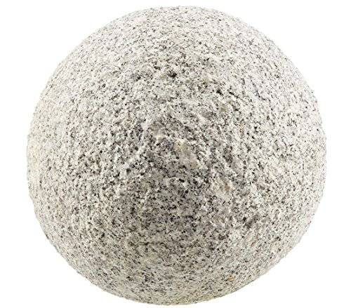 Dehner Dekokugel, Ø 20 cm, Granit, grau/marmoriert