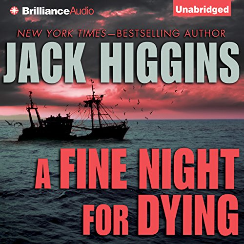 A Fine Night For Dying audiobook cover art