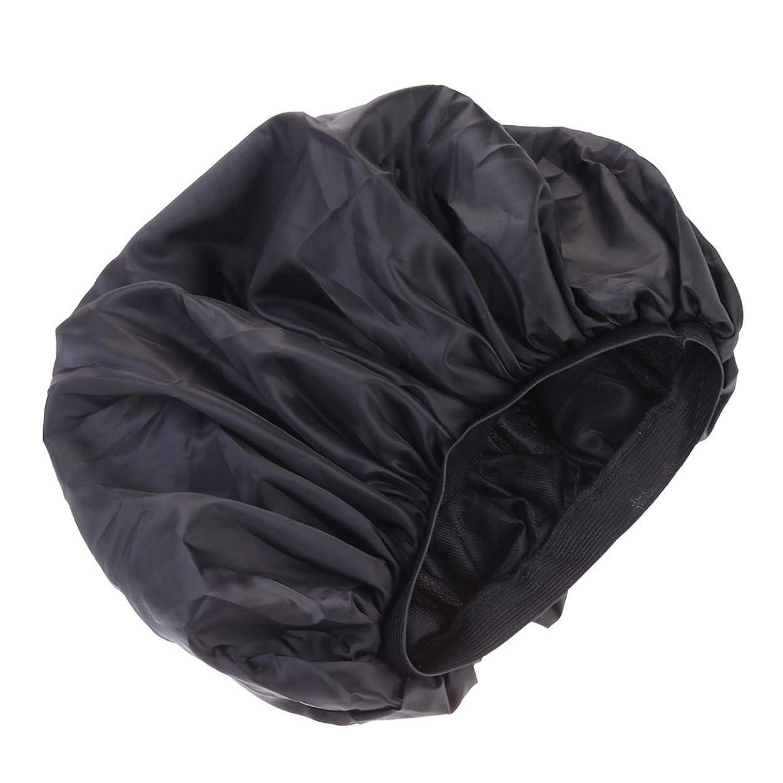 聞きますシソーラス怖いSupvox 女の子の女性XLのためのスリープキャップボンネットダブルラバーバンドナイトキャップヘアケア帽子