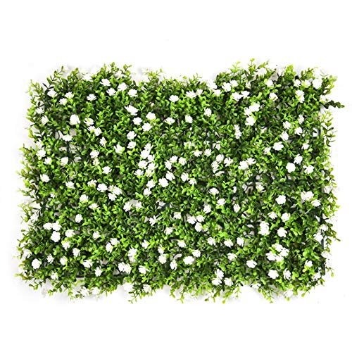 Artificial Plant Lawn Wall Artificial Hedges Panels Artificial Ivy Leaf Plastic Garden Screen Rolls,Artificial Eucalyptus Lawn Greenery Ivy Privacy Fence Screening, Home Garden Outdoor Wall Decoration