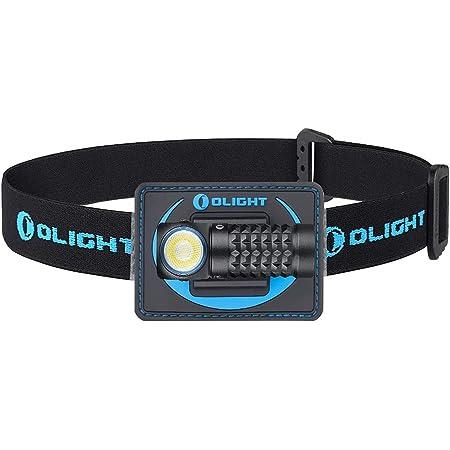 OLIGHT(オーライト) Perun Mini ヘッドライト ハンディライト フラッシュライト 懐中電灯 1000ルーメン 角度調整可能 usb充電式 IPX8 防水 耐衝撃 軽量 夜間作業灯 夜釣り アウトドア 登山用