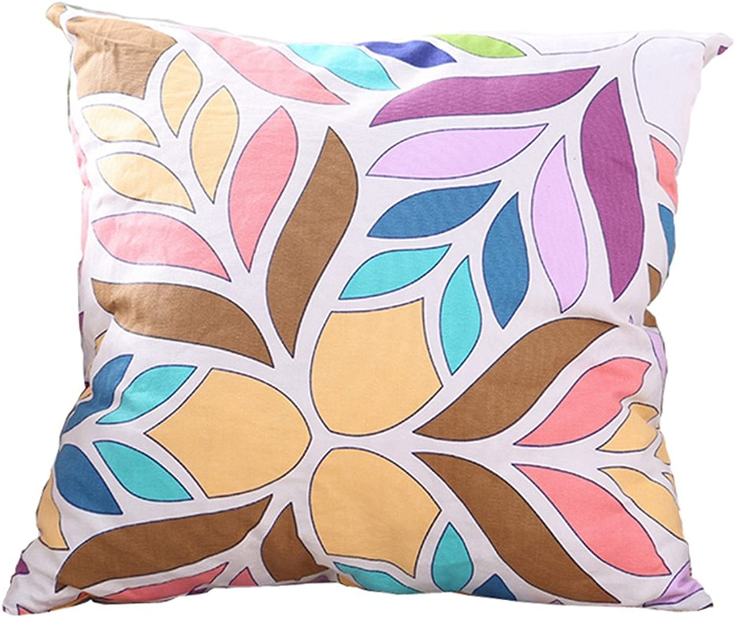 MultiSized Both Sides Pattern Printed Stuffed Throw Pillow LivebyCare PP Cotton Insert Filling Filled Cushion Pattern Zipper for Lounge Saloon Chair Back Seat Sofa Couch